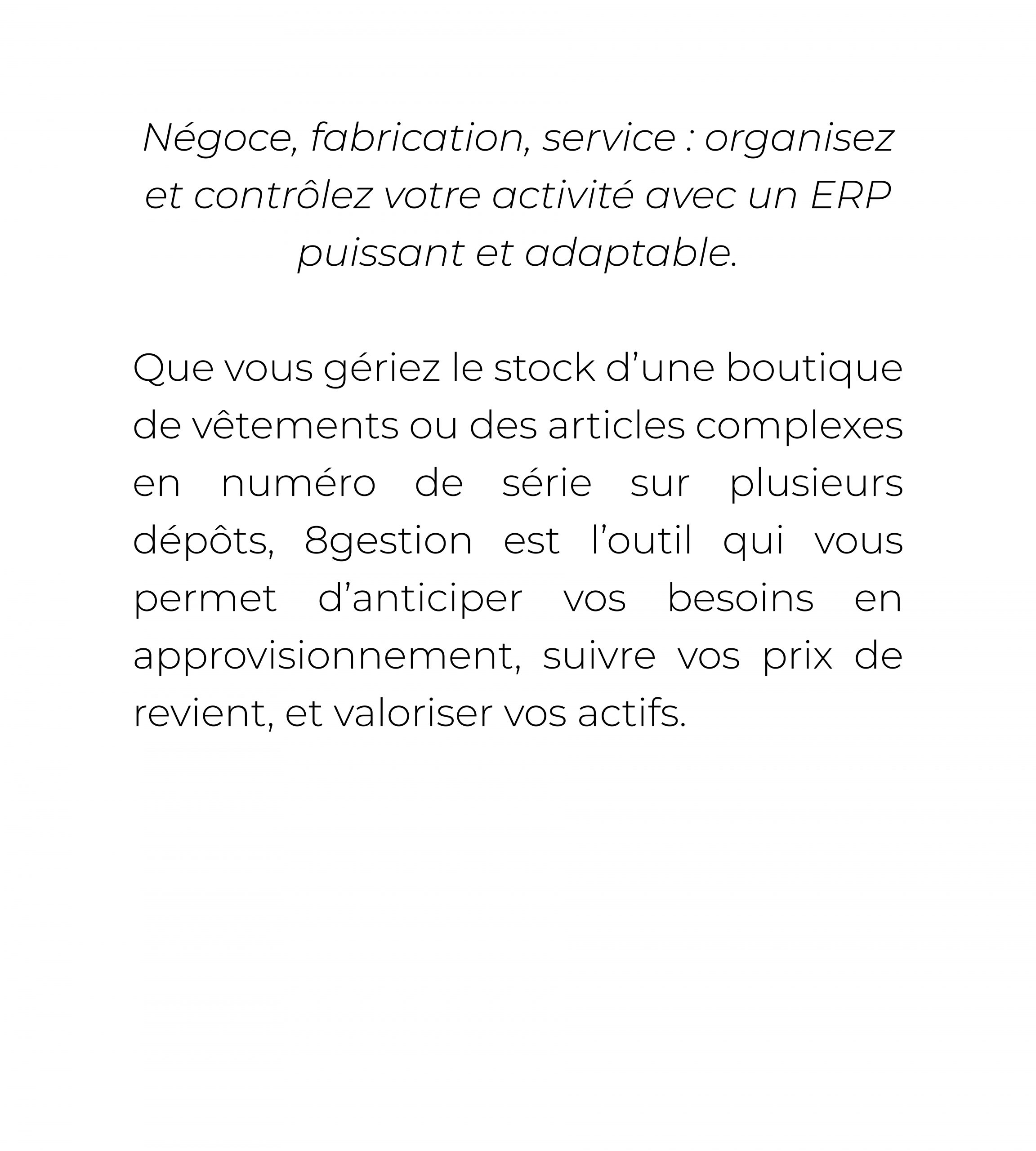 8gestion texte